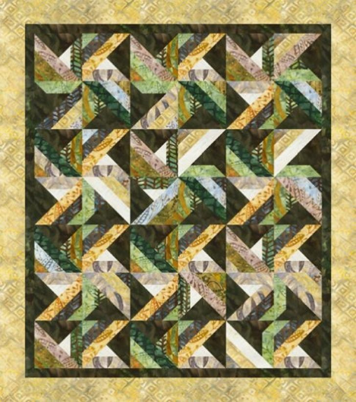 Permalink to Cool Tradewinds Quilt Pattern