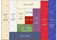 traditional log cabin bock measurements log cabin quilts Unique Log Cabin Patchwork Quilt Patterns Gallery