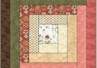 traditional log cabin quilt block pattern download Modern Log Cabin Quilt Block Pattern Inspirations