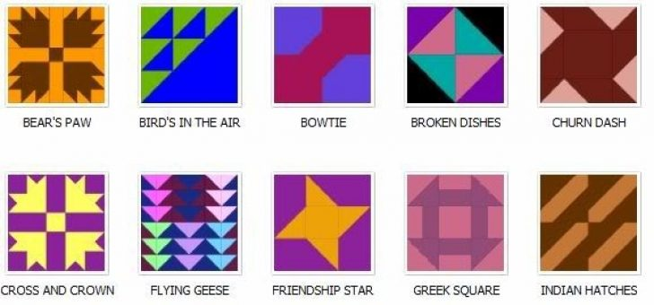 Permalink to Elegant Quilt Block Pattern Names Gallery