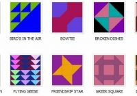 traditional quilt pattern names sew what traditional Interesting Amish Quilt Pattern Names Gallery