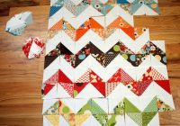 trending triangles half square triangle roundup weallsew 10   Half Square Triangle Quilt Tutorial