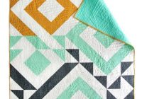 triangle jitters quilt pattern pdf download diy sewing for Modern Quilting Patterns Modern