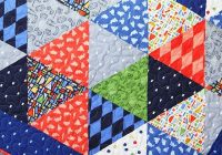 triangle quilt tutorial triangle quilt tutorials triangle Modern Quilting With Triangles