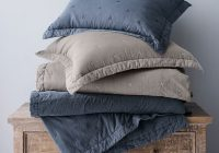triangle stitch washed cotton quilt and shams Triangle Stitch Washed Cotton Quilt And Sham Gallery