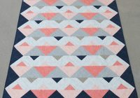 triangle twist quilt pattern bonjour quilts Modern Twisted Triangle Quilt Pattern Gallery