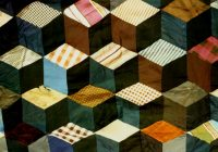tumbling block quilt pattern free quilt patterns Modern Tumbling Blocks Quilt Pattern Gallery