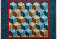 tumbling blocks pattern Elegant Tumbling Block Quilt Pattern