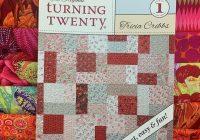 turning twenty quilt kit with 20 kaffe fassett fat quarters free spirit Cool Turning Twenty Quilt Pattern