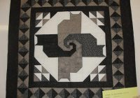 twisted tail quilt block pattern year of clean water Cozy Twisted Tails Mystery Quilt Gallery