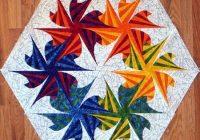 twisted triangles quilt pattern valentine quiltworks Modern Twisted Triangle Quilt Pattern Gallery