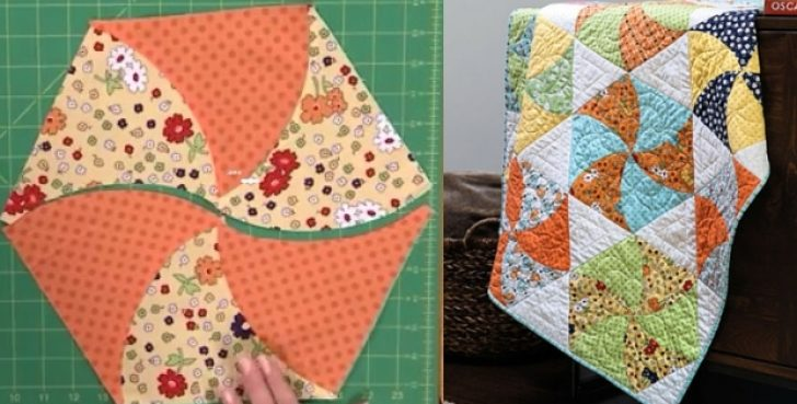 Permalink to Modern Twisted Triangle Quilt Pattern Gallery