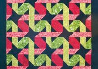twisting ribbons quilt pattern bcc 218 advanced beginner 11 Beautiful Twisted Ribbon Quilt Pattern Gallery