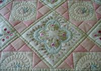 two pretty embroidery quilts machine embroidery quilts 9 Modern Embroidered Quilt Patterns Inspirations