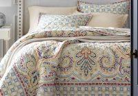 umbria paisley quilt sham garnet hill paisley bedding Unique Vintage Paisley Quilt