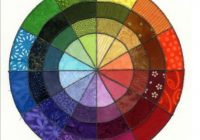 understanding colors and how they impact your quilt design Color Wheel Quilt Pattern