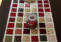 Unique 10 free table runner quilt patterns youll love 9 Modern Quilt Patterns For Table Runners