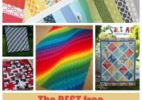 Unique 30 free jelly roll quilt patterns you will love Elegant Jelly Roll Patchwork Quilt Patterns Inspirations