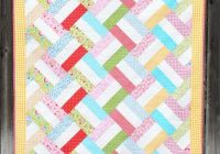 Unique 45 free easy quilt patterns perfect for beginners 10   Chevron Quilt Pattern Using Rectangles Gallery