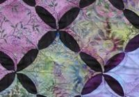 Unique 48 best cathedral windows quilts images cathedral window 9 New Cathedral Window Quilt Patterns Inspirations