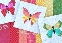 Unique a kaleidoscope of butterfly quilt blocks quilting cub 10 Unique Butterfly Quilt Pattern Block