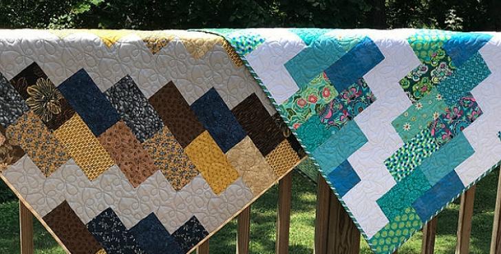 Permalink to 11 Elegant Super Easy Quilt Patterns