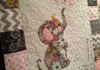 Unique adorable ba quilt elephant quilts pattern elephant Stylish Patchwork Baby Quilt Patterns Free