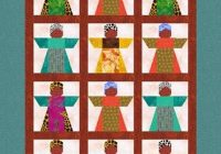 Unique african girl quilt block linleys designs craftsy 10 Interesting African American Quilt Patterns