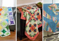 Unique block friday big block quilts quilting daily New Big Quilt Block Patterns Inspirations