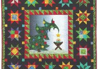 Unique christmas morning delight wall hanging pattern 9 Beautiful Quilt Patterns For Wall Hangings