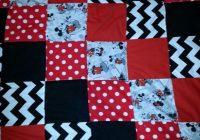Unique diy ba blanket square mickey mouse quilt mickey mouse 9 Cool Mickey Mouse Quilt Pattern