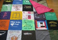 Unique diy basic t shirt quilt tutorial part 1 ba lock 10 Interesting Patterns For TShirt Quilts Gallery