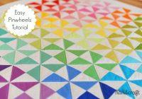 Unique easy pinwheels a tutorial modern handcraft Stylish Easy Pinwheel Quilt Pattern Gallery