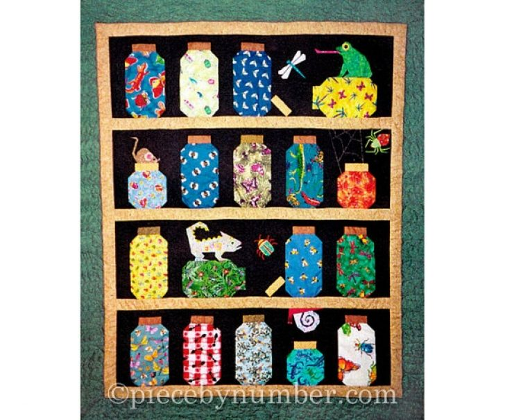 Permalink to New Bugs In A Jar Quilt Pattern