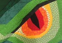 Unique fandom in stitches dungeons dragons dragon eye 9 Modern Dragon Quilt Patterns Inspirations