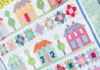 Unique farmhouse lane quilt kit featuring farm girl vintage lori holt 11 Cozy Farm Girl Vintage Quilt Book Inspirations