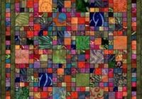 Unique for your batik scraps scrap quilt patterns quilts quilt 10 Unique Quilt Patterns Using Batiks