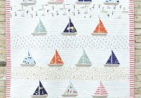Unique free pattern ahoy sailor quilt suzy williams 11 Beautiful Stylish Charley Harper Quilt Fabric Ideas Gallery