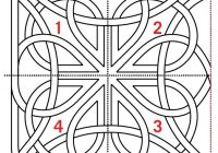 Unique free pattern celtic knot quilting design aqs blog 11 Cool Celtic Knot Quilt Pattern