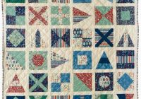 Unique free pattern day sailboats nautical quilt quilt patterns 9 Stylish Nautical Quilts Patterns Gallery