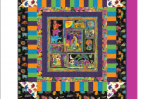 Unique free pattern mythical jungle quilt pattern laurel burch 9 Cozy Laurel Burch Quilt Fabric