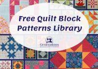 Unique free quilt block patterns library 9 Unique 6 Inch Quilt Block Patterns Inspirations