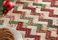 Unique free quilt pattern little zz christmas placemat i sew free 10 New Quilted Christmas Placemat Patterns Free