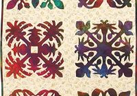 Unique hawaiian quilt patterns pacific rim quilt company 10 Cozy Hawaiian Quilting Patterns