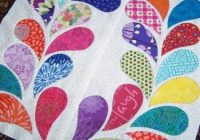 Unique how to do big stitch hand quilting with perle cotton 11 Stylish Easy Applique Quilt Patterns