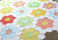 Unique ingenious grandmothers flower garden blocks machine Grandma Flower Garden Quilt Pattern