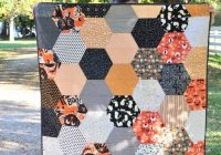 Unique large hexagon quilt pattern and tutorial polka dot chair 11 Modern Tips On Sewing Hexagon Quilts Gallery
