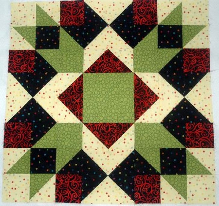 Permalink to 9 Cool Large Quilt Block Patterns