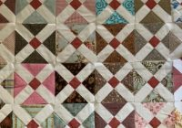 Unique old italian block antique style made easy susies scraps 9   Wickedly Easy Quilt Pattern