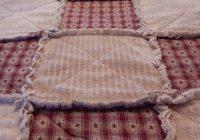 Unique primitive rag quilts queen rag quilt primitive country red Cozy Country Primitive Quilt Patterns Inspirations